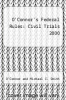 cover of O`Connor`s Federal Rules : Civil Trials 2000