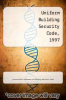cover of Uniform Building Security Code, 1997