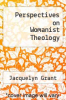 cover of Perspectives on Womanist Theology