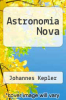 cover of Astronomia Nova