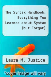 Cover of The Syntax Handbook: Everything You Learned about Syntax (but Forgot) 1 (ISBN 978-1888222807)