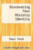 cover of Discovering Your Ministry Identity