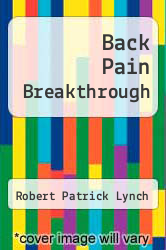 Cover of Back Pain Breakthrough EDITIONDESC (ISBN 978-1889734002)