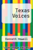 cover of Texas Voices