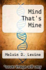 cover of Mind That`s Mine