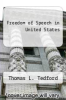 cover of Freedom of Speech in United States (8th edition)