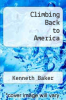 cover of Climbing Back to America