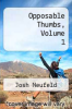 cover of Opposable Thumbs, Volume 1