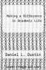 cover of Making a Difference in Academic Life