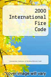 2000 International Fire Code by International Conference of Building Officials Staff - ISBN 9781892395306