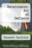 cover of Renaissance: Act of Defiance