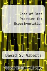 Cover of Code of Best Practice for Experimentation EDITIONDESC (ISBN 978-1893723078)