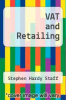 cover of VAT and Retailing