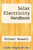 cover of Solar Electricity Handbook (10th edition)