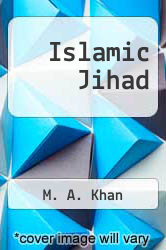 Cover of Islamic Jihad EDITIONDESC (ISBN 978-1926800042)