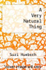 cover of A Very Natural Thing