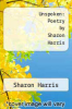 cover of Unspoken: Poetry by Sharon Harris