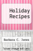 cover of Holiday Recipes