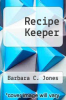 cover of Recipe Keeper