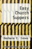 cover of Easy Church Suppers