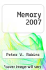 cover of Memory 2007