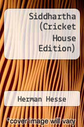 Siddhartha (Cricket House Edition) by Herman Hesse - ISBN 9781935814061