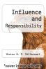cover of Influence and Responsibility