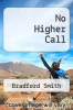 cover of No Higher Call