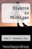 cover of Divorce in Michigan