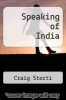 cover of Speaking of India