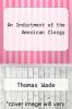 cover of An Indictment of the American Clergy
