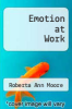 cover of Emotion at Work