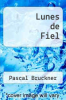 cover of Lunes de Fiel