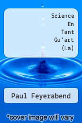 Cover of Science En Tant Qu