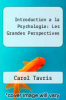 cover of Introduction a la Psychologie : Les Grandes Perspectives