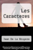 cover of Les Caracteres