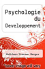 cover of Psychologie du Developpement
