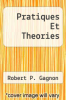 cover of Pratiques Et Theories (4th edition)