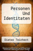 cover of Personen Und Identitaten
