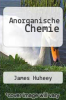 cover of Anorganische Chemie (5th edition)