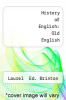 cover of Old English