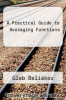 cover of A Practical Guide to Averaging Functions