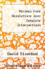 cover of Minimal Free Resolutions over Complete Intersections