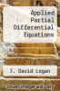 cover of Applied Partial Differential Equations (3rd edition)