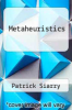 cover of Metaheuristics