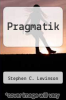 cover of Pragmatik (3rd edition)
