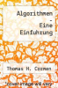 cover of Algorithmen - Eine Einfuhrung (4th edition)