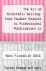 cover of The Art of Scientific Writing: From Student Reports to Professional Publications in Chemistry and Related Fields