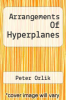cover of Arrangements Of Hyperplanes