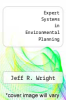 cover of Expert Systems in Environmental Planning